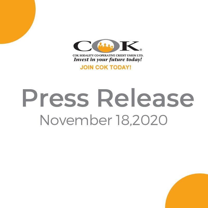 Press Release November 18, 2020