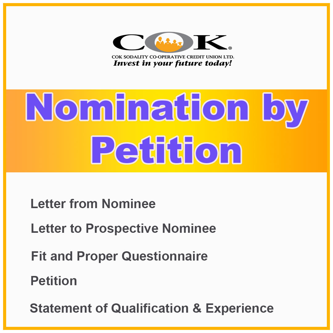 Nomination for Petition 2021