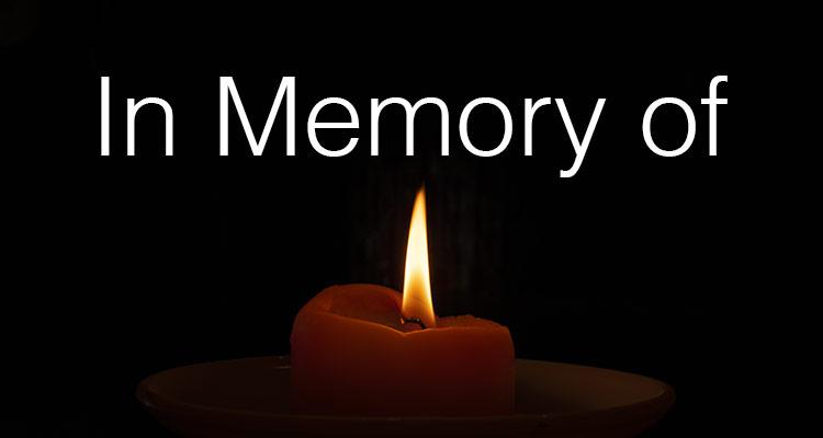 In remembrance of Honorary Director, Mr. Bertie Morris